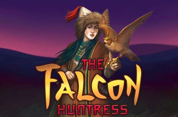 Play The Falcon Huntress slot game at Happyluke.com